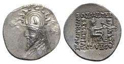 Ancient Coins - Kings of Parthia, Sinatrukes (93/2-70/69 BC). AR Drachm