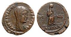 Ancient Coins - Divus Constantine I (died AD 337). Æ Follis - Alexandria