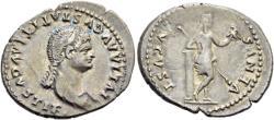 Ancient Coins - Julia Titi (80-81) AR Denarius. R/ VENUS Lovely portrait Ex Monetarium SKA sale 49, 1988, 109.