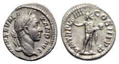 Ancient Coins - Severus Alexander (222-235). AR Denarius - Rome - R/ Sol