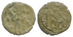 Ancient Coins - Manuel II Palaeologus. 1391-1425.  Æ Follaro. Constantinople mint. RARE