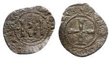 World Coins - Italy, Sicily, Messina. Carlo I d'Angiò (1266-1285). BI Denaro