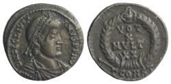 Ancient Coins - Julian II. AD 360-363. AR Siliqua. Arelate (Arles) mint. Struck AD 361-363.