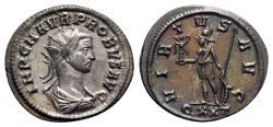 Ancient Coins - Probus (276-282). Radiate - Ticinum - R/ Virtus