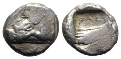 Ancient Coins - Lycia, Phaselis, c. 500-440 BC. AR Stater