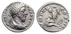 Ancient Coins - Marcus Aurelius (161-180). AR Denarius - Rome - R/ Trophy and captive