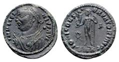 Ancient Coins - Licinius I (308-324). Æ Follis - Cyzicus