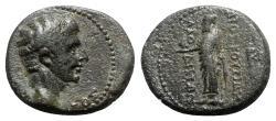Ancient Coins - Tiberius (14-37). Phrygia, Laodicea ad Lycum. Æ - Dioskourides, magistrate