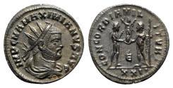 Ancient Coins - Maximianus (286-305). Radiate - Cyzicus