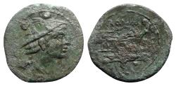 Ancient Coins - Roman Republic - Anonymous, Rome, after 211 BC. Æ Sextans