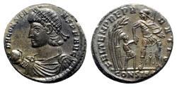 Ancient Coins - Constans (337-350). Æ Centenionalis - Constantinople