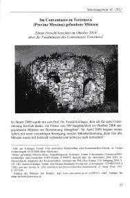 Ancient Coins - Universität Wien Institut für Numismatik und Geldgeschichte. Mitteilungsblatt 43. 2011/2012