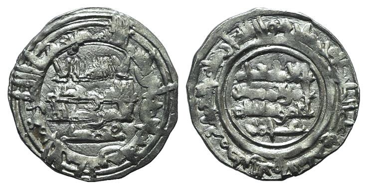 World Coins - Islamic, al-Andalus (Spain). Hisham II (AH 366-399 / AD 976-1009). AR Dirham. 388H