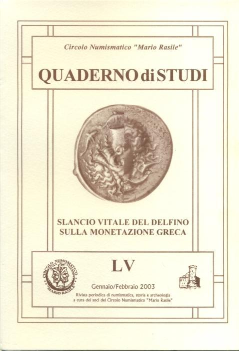 Ancient Coins - Italiano Gianpaolo, Slancio vitale del delfino sulla monetazione greca.