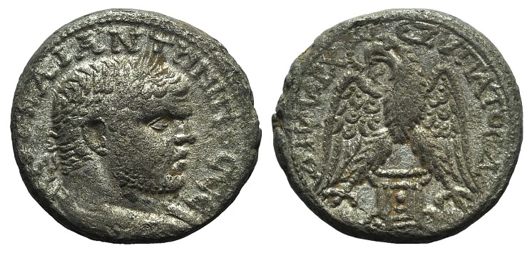 Ancient Coins - Caracalla (198-217). Phoenicia, Sidon. AR Tetradrachm, 215-7.