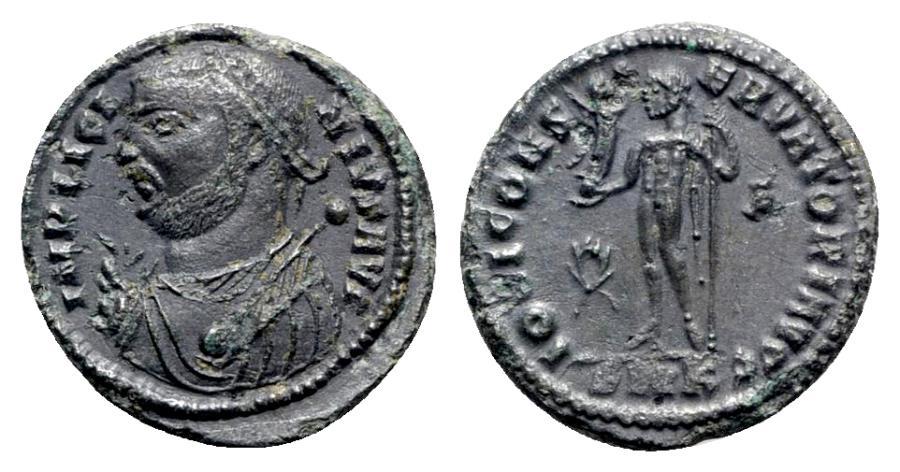 Ancient Coins - Licinius I (308-324). Æ Follis - Cyzicus