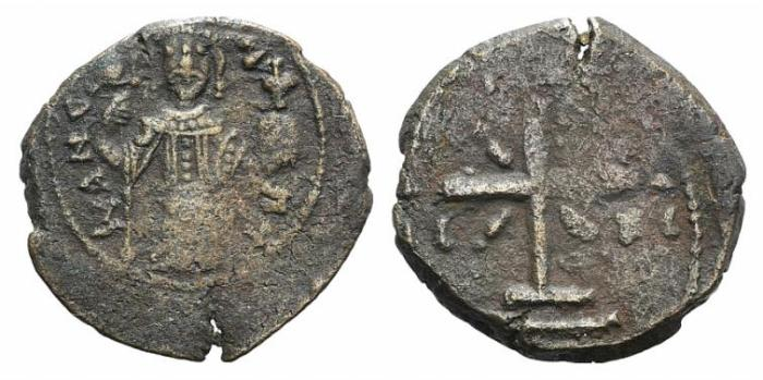 Ancient Coins - Manuel I (1143-1180). Æ Tetarteron