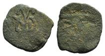 Ancient Coins - John II Palaeologus. 1425-1498. Æ Follaro VERY RARE