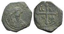World Coins - CRUSADERS, Tancred. Tacred. Regent, 1101-03, 1104-12. Æ Follis