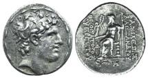 Ancient Coins - Seleukid Kings, Alexander I Balas (150-145 BC). AR Tetradrachm. Antioch, year 166 (147/6).