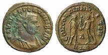 Ancient Coins - Severus II. As Caesar, AD 305-306. Æ Radiate. Alexandria mint. SCARCE