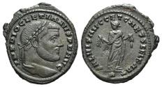 Ancient Coins - Diocletian. AD 284-305. Æ Follis. Carthage mint, 1st officina. Struck circa AD 299-303.  R/ Carthage