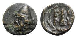 Ancient Coins - Troas, Birytis, c. 350-300 BC. Æ - Kabeiros / Club
