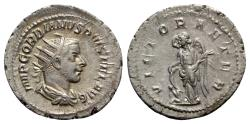 Ancient Coins - Gordian III (238-244). AR Antoninianus - Rome - R/ Victory