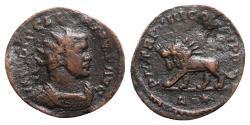 Ancient Coins - Diocletian (284-305). Radiate - Lugdunum - R/ Lion