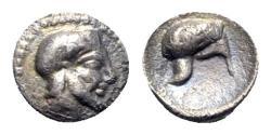 Ancient Coins - Sicily, Himera, c. 430 BC. AR Litra