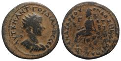 Ancient Coins - Gordian III ( 238-244). Cilicia, Anazarbus. Æ Hexassarion. year 262 (243/4).  R/ Tyche