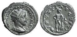Ancient Coins - Gordian III (238-244). AR Antoninianus. Rome, 238-9. R/ HERCULES