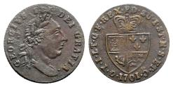 World Coins - Great Britain, George III. AE  Gaming Token 1701