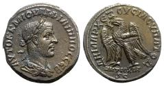 Ancient Coins - Philip I (244-249). Seleucis and Pieria, Antioch. AR Tetradrachm