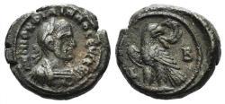 Ancient Coins - Philip I (244-249). Egypt, Alexandria. BI Tetradrachm, year 2 (244/5).  R/ Eagle