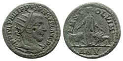 Ancient Coins - Philip I (244-249). Moesia Superior, Viminacium. Æ