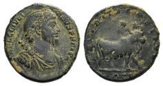 Ancient Coins - Julian II (360-363). Æ 26mm. Antioch. R/ BULL
