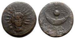 Ancient Coins - Roman Republic - Anonymous, Rome, c. 217-215 BC. Æ Uncia