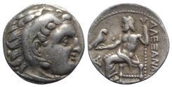 Ancient Coins - Kings of Macedon, Antigonos I Monophthalmos (Strategos of Asia, 320-306/5 BC, or king, 306/5-301 BC). AR Drachm