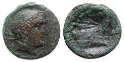 Ancient Coins - Roman Republic - Anonymous, Rome, 217-215 BC. Æ Semuncia