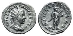 Ancient Coins - Philip II (Caesar, 244-247). AR Antoninianus. Rome, AD 245.