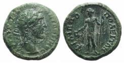 Ancient Coins - Antoninus Pius (138-161). Thrace, Philippopolis. Æ 17mm. R/ Dionysus