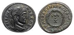 Ancient Coins - Crispus (Caesar, 316-326). Æ Follis - Arelate(?)