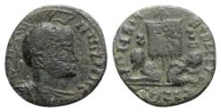 Ancient Coins - Barbaric issue, imitating Constantine I, c. 4th-5th century. Æ 17.5mm