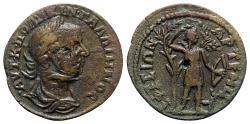 Ancient Coins - Gallienus (253-268). Ionia, Ephesos. Æ - R/ Artemis