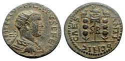 Ancient Coins - Philip I (244-249). Pisidia, Antioch. Æ, Aquila.