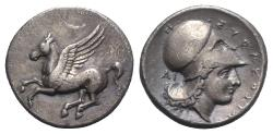 Ancient Coins - Sicily, Syracuse, c. 344-339/8 BC. AR Stater