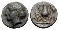 Ancient Coins - Aeolis, Larissa Phrikonis, c. 4th century BC. Æ, Rare.
