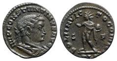 Ancient Coins - Constantine I (307-337). Æ Follis - Lugdunum - R/ Sol