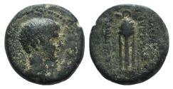 Ancient Coins - Britannicus (AD 41-55). Phrygia, Laodicea ad Lycum. Æ 15mm RARE